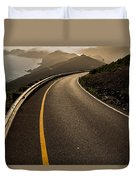 The Long And Winding Road Duvet Cover by John Daly