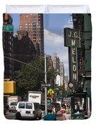 The Manhattan Sophisticate Duvet Cover by Madeline Ellis