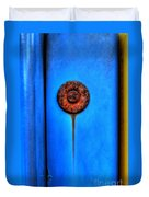 The Mechanics Of Sadness Duvet Cover by Michael Garyet
