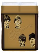 The Monkees  Duvet Cover by Movie Poster Prints