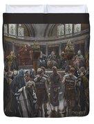 The Morning Judgement Duvet Cover by Tissot