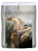 The Mountain Mists Duvet Cover by Herbert James Draper