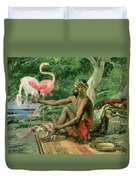 The Nubian Duvet Cover by Georgio Marcelli