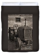 The Old Mule  Duvet Cover by Richard Rizzo
