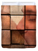 The Passion Of A Kiss 2 Duvet Cover by Mark Ashkenazi