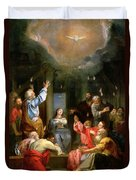 The Pentecost Duvet Cover by Louis Galloche
