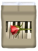The Piano Gift Duvet Cover by Sophie De Roumanie