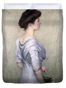 The Pink Rose Duvet Cover by Lilla Cabot Perry