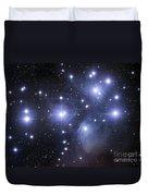 The Pleiades Duvet Cover by Robert Gendler