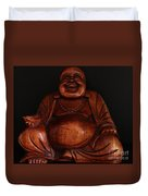 The Protector Of Wealth Duvet Cover by Nancy Harrison