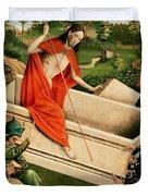 The Resurrection Duvet Cover by Johann Koerbecke