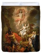 The Resurrection Of Christ Duvet Cover by Noel Coypel