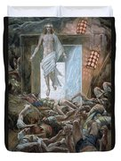 The Resurrection Duvet Cover by Tissot