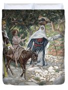The Return from Egypt Duvet Cover by Tissot