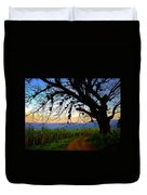 The Road Less Traveled Duvet Cover by Skip Hunt