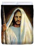 The Savior Duvet Cover by Greg Olsen