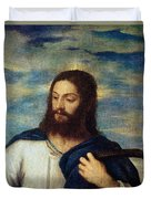 The Savior Duvet Cover by Titian
