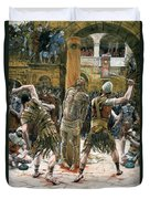 The Scourging Duvet Cover by Tissot