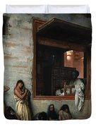 The Slave Market Duvet Cover by Jean Leon Gerome