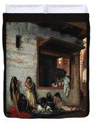 The Slave Market Duvet Cover by Jean Leon Gerome