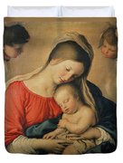The Sleeping Christ Child Duvet Cover by Il Sassoferrato