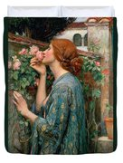 The Soul Of The Rose Duvet Cover by John William Waterhouse
