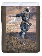 The Sower Duvet Cover by Tissot