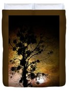 The Sunset Tree Duvet Cover by Loriental Photography