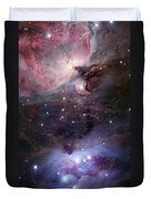 The Sword Of Orion Duvet Cover by Robert Gendler