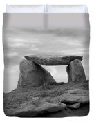 The Table - Ireland Duvet Cover by Mike McGlothlen