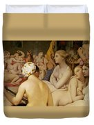 The Turkish Bath Duvet Cover by Ingres