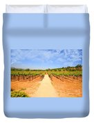 The Vineyard Duvet Cover by Cheryl Young