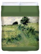 The Watering Place Duvet Cover by Renoir