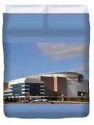 The Wells Fargo Center - Philadelphia  Duvet Cover by Bill Cannon