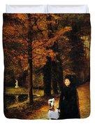 The Widow Duvet Cover by Horace de Callias