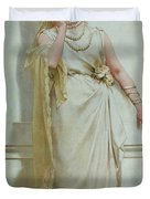 The Young Bride Duvet Cover by Alcide Theophile Robaudi
