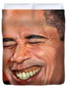 They called me Mr. President 1 Duvet Cover by Reggie Duffie
