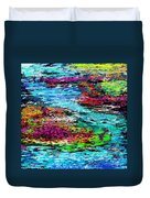 Thought Upon A Stream Duvet Cover by David Lane