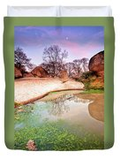 Thracian Sanctuary Duvet Cover by Evgeni Dinev