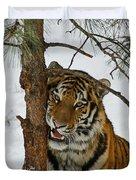 Tiger 3 Duvet Cover by Ernie Echols