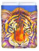 Tiger Duvet Cover by Stephen Anderson
