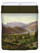 Tile Fjord Duvet Cover by Louis Gurlitt