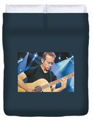 Tim Reynolds And Lights Duvet Cover by Joshua Morton