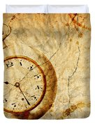 Time Duvet Cover by Michal Boubin