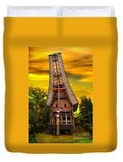 Toraja Architecture Duvet Cover by Charuhas Images