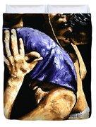 Torrid Tango Duvet Cover by Richard Young