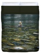 Tower Of Stones Duvet Cover by Joana Kruse