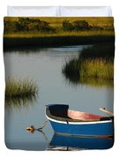 Tranquil Cape Cod Photography Duvet Cover by Juergen Roth