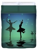 Tranquil Persuasion Duvet Cover by Joyce Dickens
