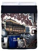 Trashed Duvet Cover by Lisa Knechtel
